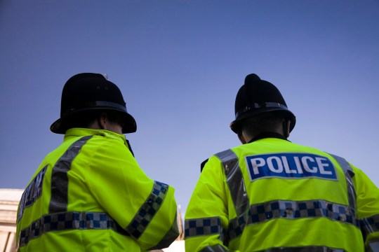 See the following lightbox for more British Police images
