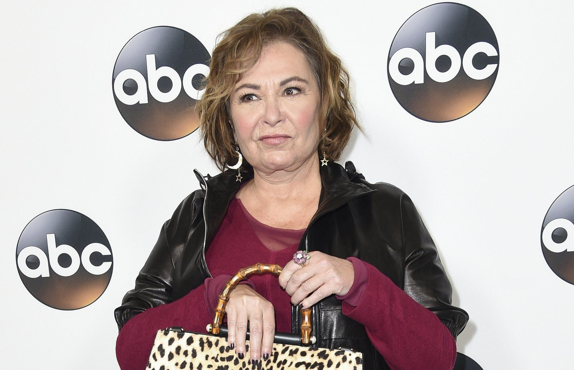 "FILE - In this Jan. 8, 2018 file photo, Roseanne Barr attends the ABC All-Star Party arrivals during the Disney/ABC Television Critics Association Winter Press Tour in Pasadena, Calif. Barr is blaming a racist tweet that got her hit show canceled on the insomnia medication Ambien, prompting its maker to respond that ""racism is not a known side effect."" (Photo by Richard Shotwell/Invision/AP, File)"