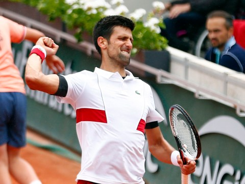 Novak Djokovic shows off his epic dancing skills after French Open win