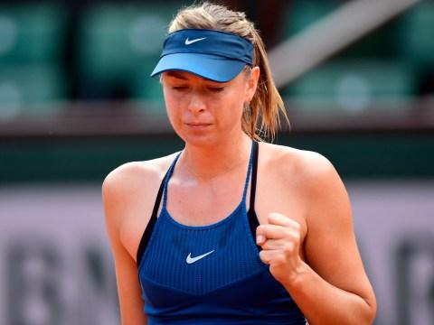 Maria Sharapova awaits Serena Williams after dispatching sixth seed Karolina Pliskova