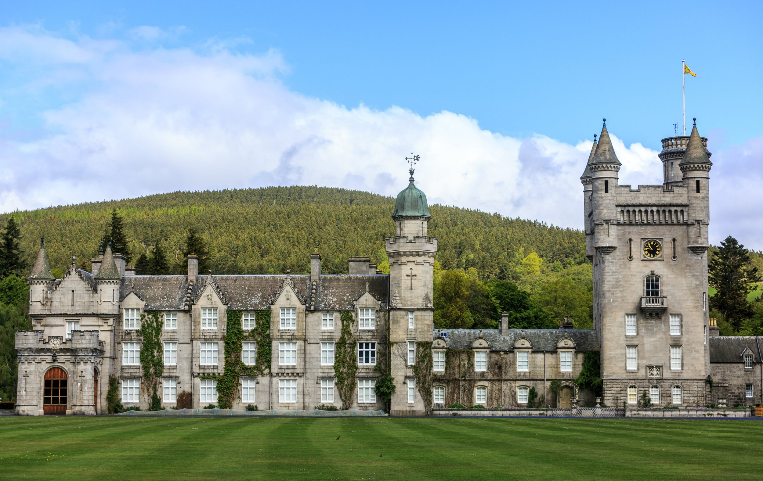 Mandatory Credit: Photo by APA-PictureDesk GmbH/REX/Shutterstock (6027811i) Balmoral Castle Balmoral Castle, Scotland, UK - 26 Sep 2016