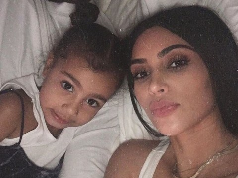 Kim Kardashian asks North to end feud with brother Saint on her fifth birthday