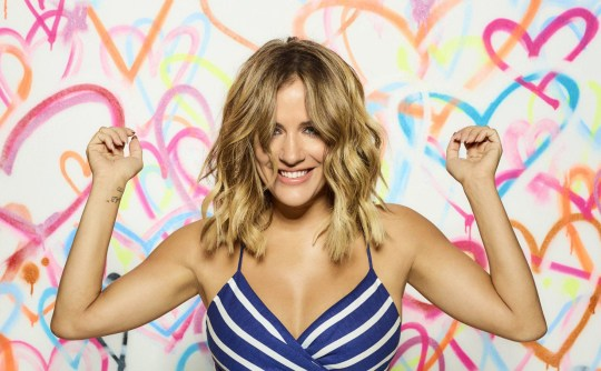 This image is strictly embargoed until 22.30 Sunday 3rd June 2018 From ITV Studios Love Island: SR4 on ITV2 Pictured: Caroline Flack. This photograph is (C) ITV Plc and can only be reproduced for editorial purposes directly in connection with the programme or event mentioned above, or ITV plc. Once made available by ITV plc Picture Desk, this photograph can be reproduced once only up until the transmission [TX] date and no reproduction fee will be charged. Any subsequent usage may incur a fee. This photograph must not be manipulated [excluding basic cropping] in a manner which alters the visual appearance of the person photographed deemed detrimental or inappropriate by ITV plc Picture Desk. This photograph must not be syndicated to any other company, publication or website, or permanently archived, without the express written permission of ITV Plc Picture Desk. Full Terms and conditions are available on the website www.itvpictures.co.uk For further information please contact: james.hilder@itv.com / 0207 157 3052