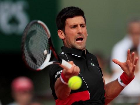 Novak Djokovic takes swipe at French Open officials