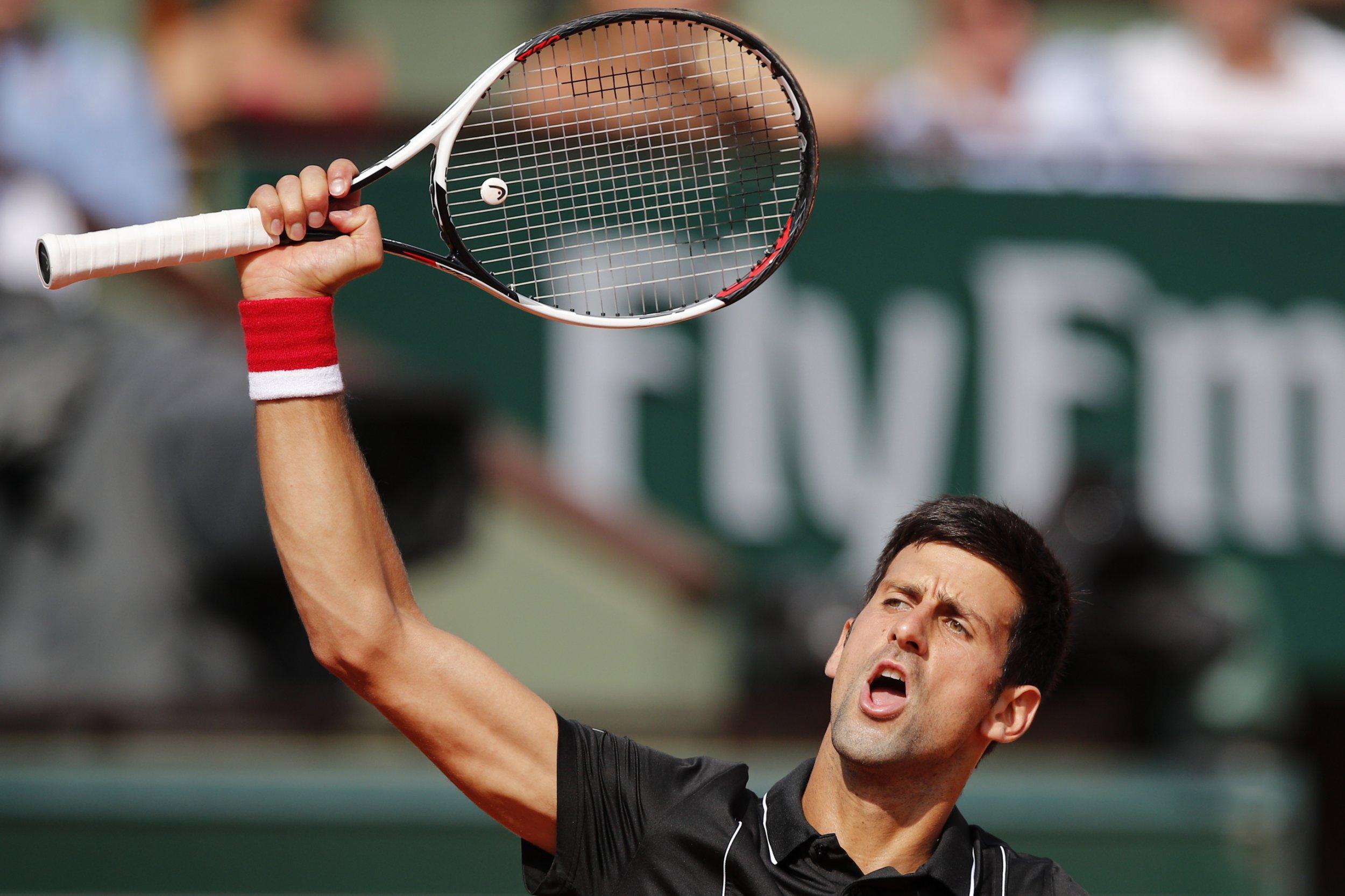 Novak Djokovic storms into French Open quarter-finals after downing Fernando Verdasco