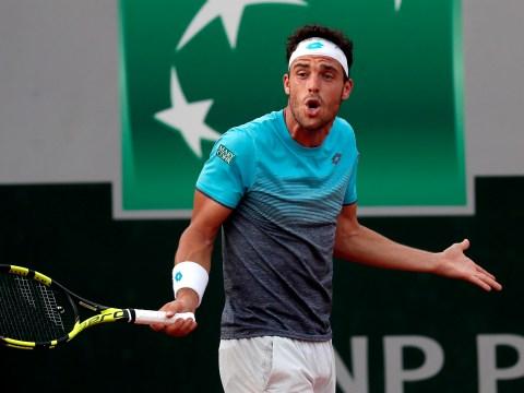Novak Djokovic has inside track on French Open quarter-final opponent Marco Cecchinato
