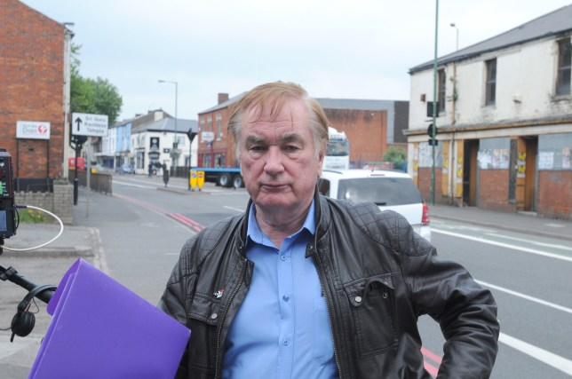 Pensioner David Hall, as he arrives at Walsall Magistrates' Court, for his trial after he sent racist and threatening emails to six MPs, including Mrs Morgan, Dominic Grieve, David Lammy, Anna Soubry and Heidi Allen, in the wake of a Brexit debate in parliament. PRESS ASSOCIATION Photo. Picture date: Monday June 4, 2018. Hall, 72, admitted six counts of sending grossly offensive, indecent or obscene messages via a public communication network after changing his pleas. See PA story COURTS Hall. Photo credit should read: Matthew Cooper/PA Wire