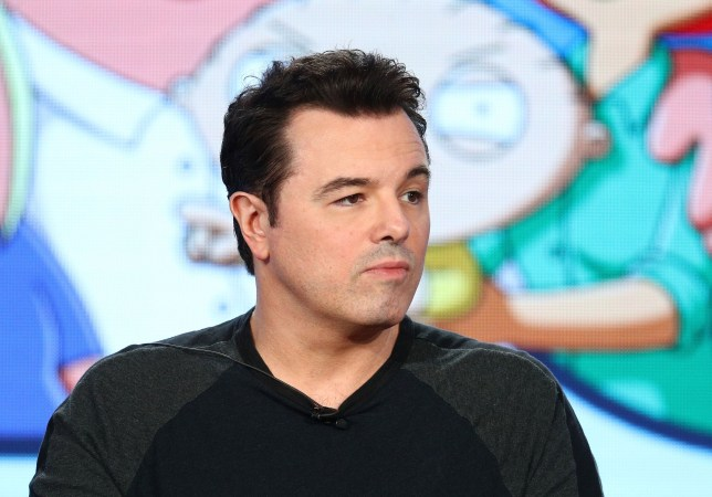 PASADENA, CA - JANUARY 04: Creator/executive producer Seth MacFarlane of the television show Family Guy speaks onstage during the FOX portion of the 2018 Winter Television Critics Association Press Tour at The Langham Huntington, Pasadena on January 4, 2018 in Pasadena, California. (Photo by Frederick M. Brown/Getty Images)