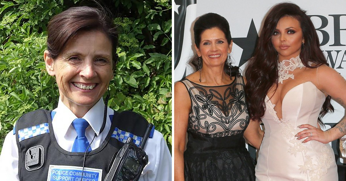 Jesy Nelson's mum helps nab 'dangerous robber' who mugged pensioner