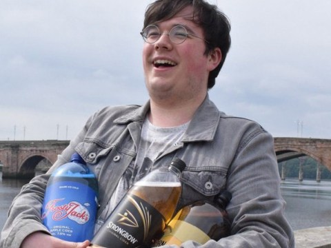 Student travels from Scotland to England to buy cider — because it's £20 cheaper