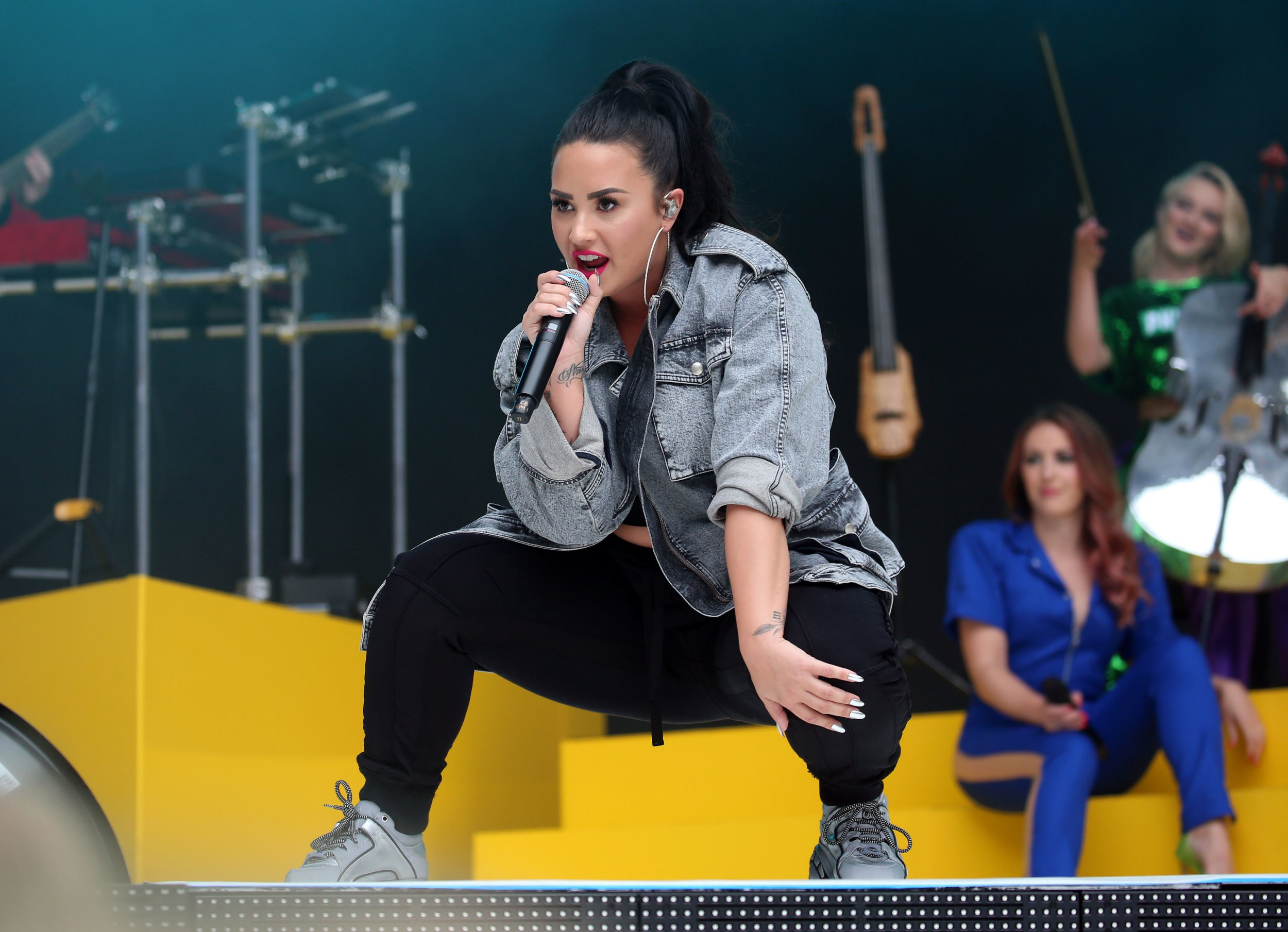 Demi Lovato is so bored she 'might play Fortnite' as she cancels second UK gig