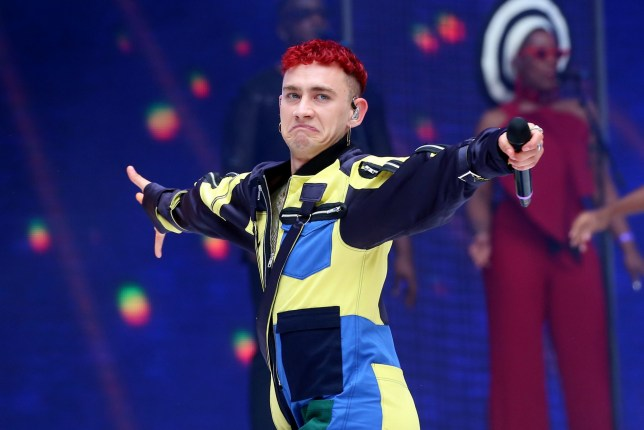 Olly Alexander of Years & Years on stage during Capital's Summertime Ball with Vodafone at Wembley Stadium, London. PRESS ASSOCIATION Photo. This summer's hottest artists performed live for 80,000 Capital listeners at Wembley Stadium at the UK's biggest summer party. Performers included Camila Cabello, Shawn Mendes, Rita Ora, Charlie Puth, Jess Glyne, Craig David, Anne-Marie, Rudimental, Sean Paul, Clean Bandit, James Arthur, Sigala, Years & Years, Jax Jones, Raye, Jonas Blue, Mabel, Stefflon Don, Yungen and G-Eazy. Picture date: Saturday June 9, 2018. Photo credit should read: Isabel Infantes/PA Wire