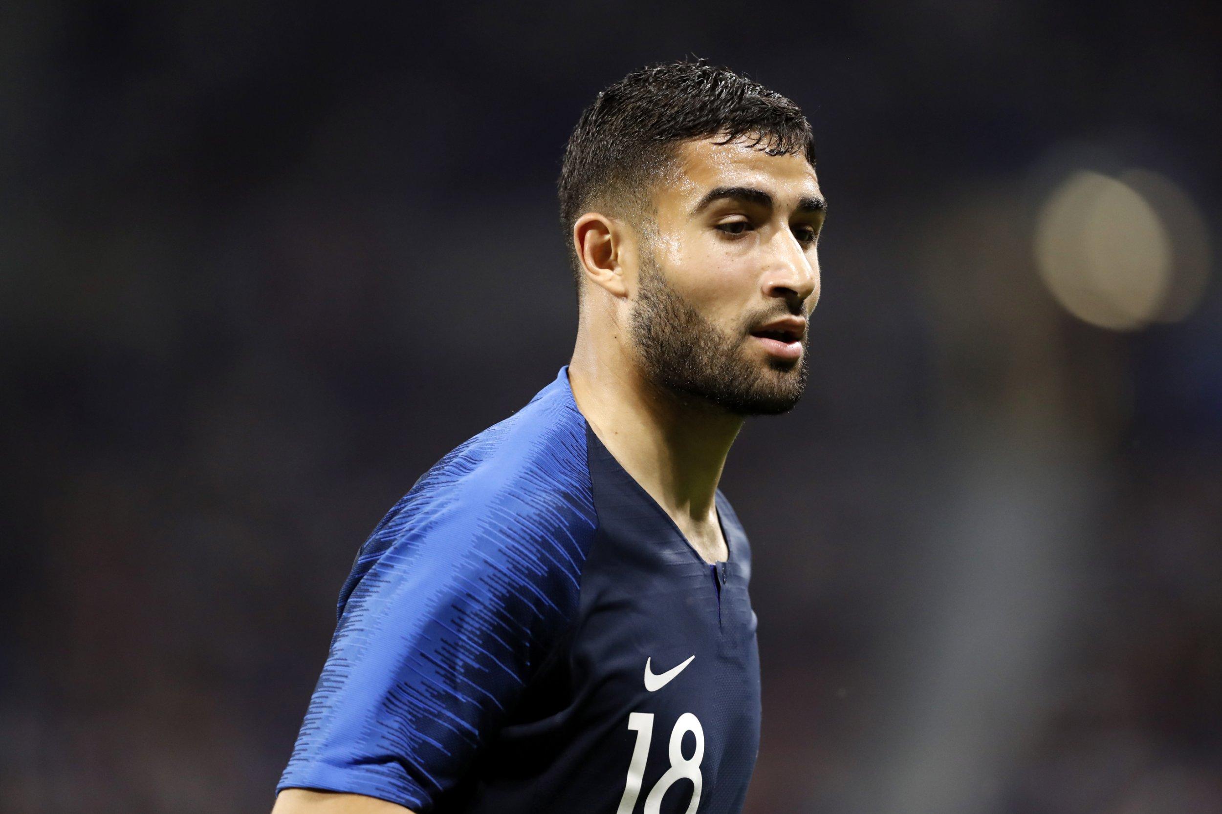epa06797787 Nabil Fekir of France during the International Friendly soccer match between France and USA in Lyon, France, 09 June 2018. EPA/ALEX MARTIN