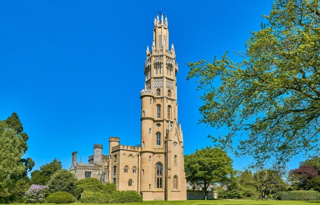 BNPS.co.uk (01202 558833)?Pic: Strutt&Parker/BNPS This stunning 175ft tall gothic tower which has undergone a major renovation has emerged on the market for ?2million. Majestic eight storey Hadlow Tower was built in 1838 in the grounds of the no longer standing Hadlow Castle in Tonbridge, Kent, by a wealthy merchant and land owner. A three-year ?4.5million renovation completed in 2013 paid for by the National Heritage Lottery Fund and English Heritage transformed Hadlow Tower into a state of the art home boasting its own lift. Its present owner, accountant Christian Tym, purchased Hadlow Tower for ?425,000 last August but it has soared in value after he was able to get some restrictive covenants lifted which had put off other prospective buyers.
