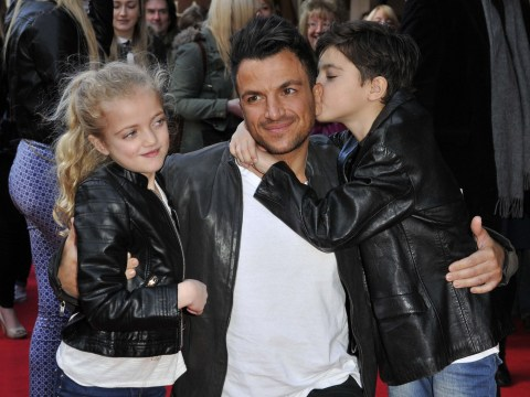 Peter Andre wants son Junior to play him if someone makes a biopic on his life