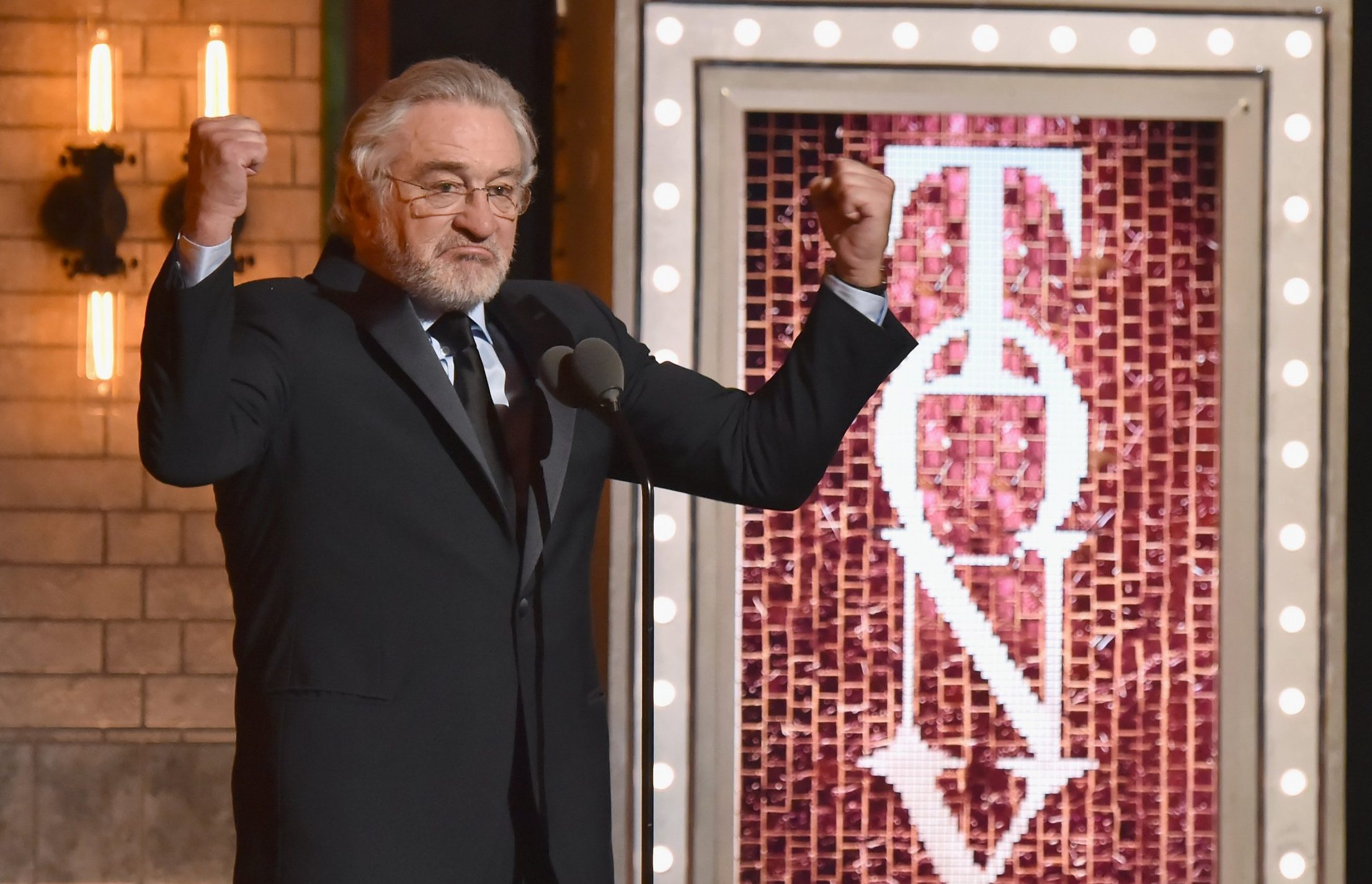 Robert De Niro earns himself standing ovation over 'f*** Trump' outburst at Tony Awards