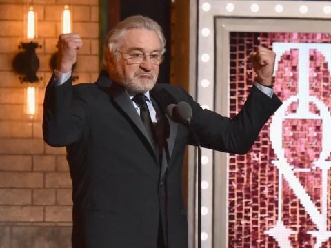 Robert de Niro's speech at the Tony Awards in full as Donald Trump calls him 'punch drunk'