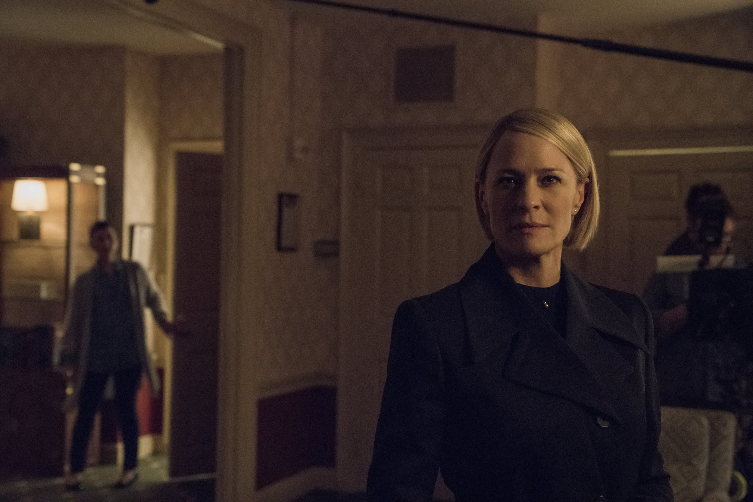 No sign of Kevin Spacey as Netflix drop first look at Claire Underwood in House Of Cards