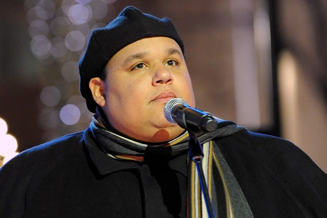 CHRISTMAS IN ROCKEFELLER CENTER -- Neal E. Boyd -- Airdate 12/03/2008 -- Pictured: Singer Neal E. Boyd performs at Rockefeller Center in New York, NY on December 3, 2008 (Photo by Virginia Sherwood/NBC/NBCU Photo Bank via Getty Images)