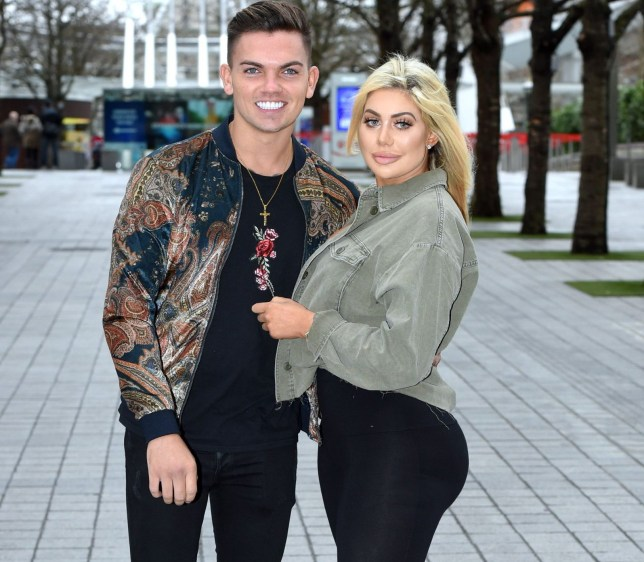Mandatory Credit: Photo by Anthony Harvey/REX/Shutterstock (9489898fu) Sam Gowland and Chloe Ferry at the London Eye 'Jersey Shore: Family Vacation' press day, London, UK - 03 Apr 2018 Ahead of the global premiere of Jersey Shore Family Vacation, the cast of the show have been invited to London by MTV UK's very own Geordie's to celebrate! Jersey Shore Family Vacation airs globally on MTV this week with the UK premiere set for Monday April 9 at 9pm.