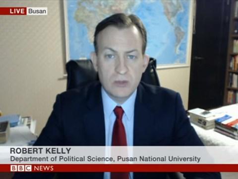 BBC dad Professor Kelly calls historic Trump and Kim summit 'thin and depressing'