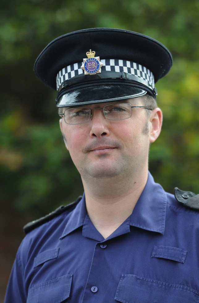 BNPS.co.uk (01202 558833)?Pic: DorsetEcho/BNPS Police officer Stephen Hughes. A police sergeant at the centre of a misconduct hearing who told a female officer to make the tea because 'you've got the tits' has avoided being sacked. A panel found Sgt Stephen Hughes of Dorset Police guilty of misconduct after he admitted making two inappropriate comments toward female officers but he escaped with a slap on the wrist - a final written warning. The second complaint he admitted related to a breastfeeding comment made to a female officer who was a mother. He was found to have breached the standards of professional behaviour for police officers but the panel ruled the breaches amounted to misconduct, not gross misconduct.