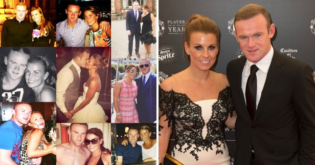 Coleen Rooney celebrates 10 year anniversary with Wayne