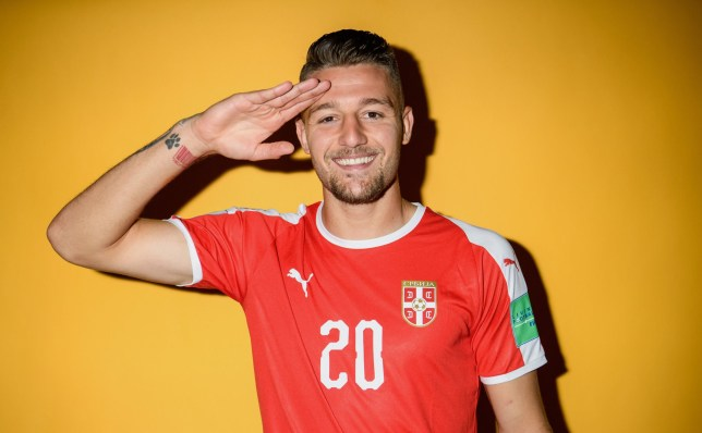 KALININGRAD, RUSSIA - JUNE 12: Sergej Milinkovic-Savic of Serbia poses for a portrait during the official FIFA World Cup 2018 portrait session at on June 12, 2018 in Kaliningrad, Russia. (Photo by Matthias Hangst - FIFA/FIFA via Getty Images)