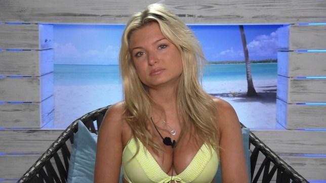 Zara Holland ITV Love Island