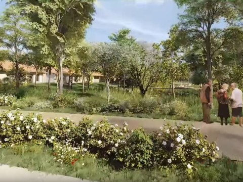 France is building a safe village for people with Alzheimer's
