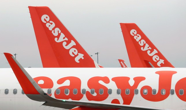 File photo dated 8/3/2017 of easyJet aeroplanes as the budget airline has claimed its air fares would be cut by almost one third if a new runway is built at Heathrow.