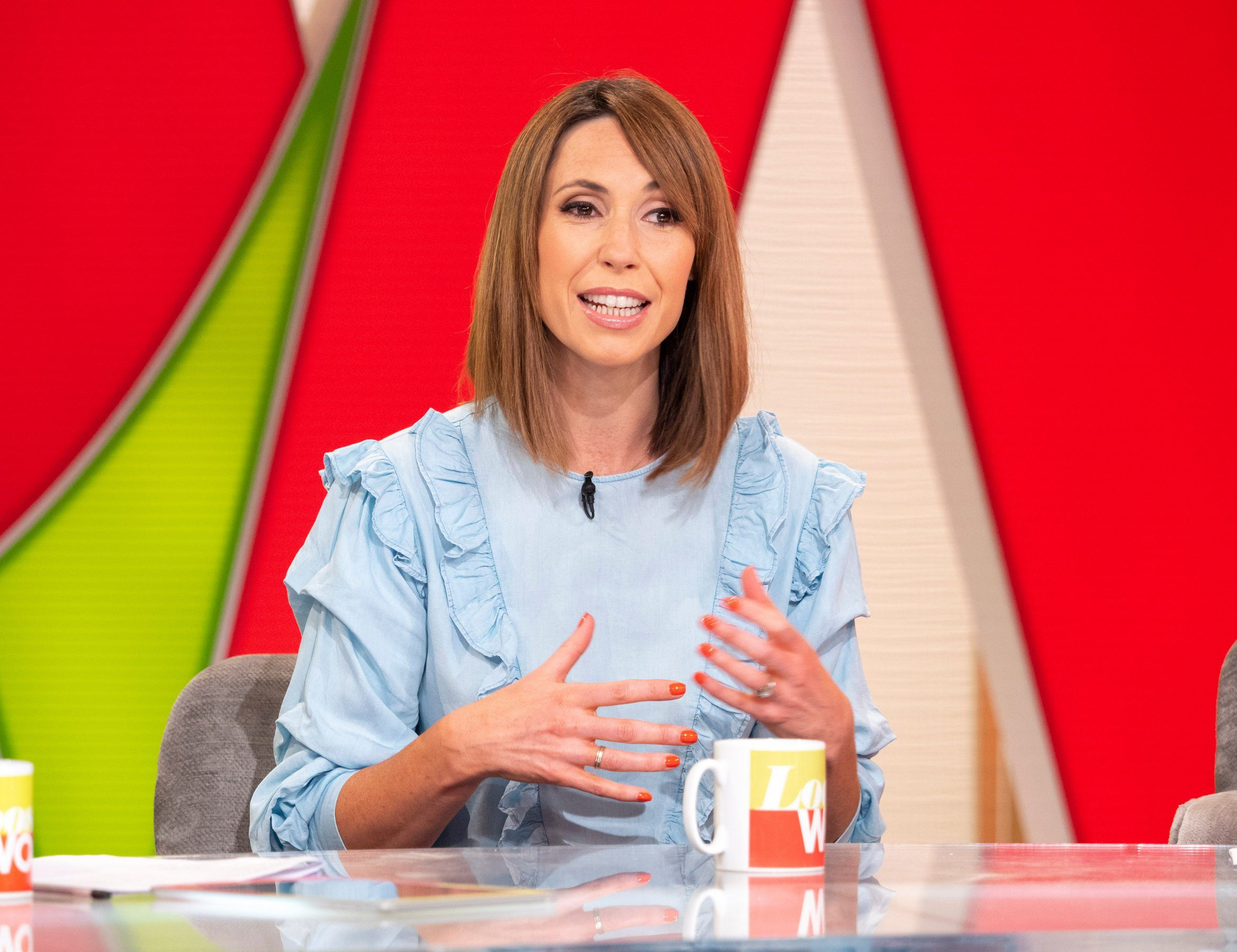 Alex Jones feared she would lose her job The One Show while on maternity leave