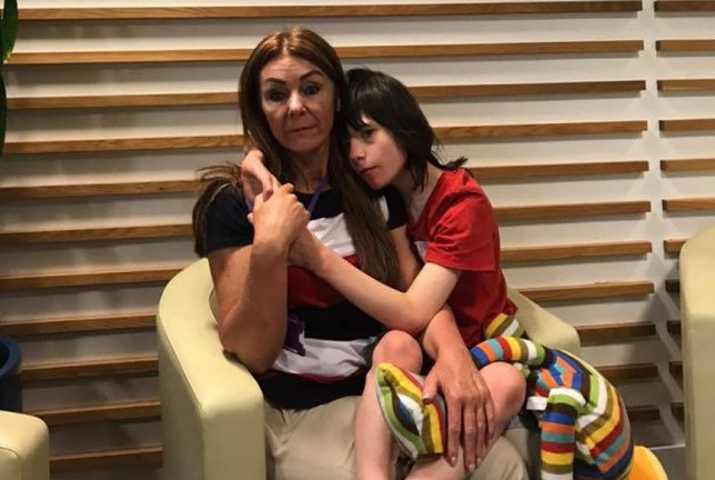 Billy Caldwell Uploaded on June 11th 2018 ??? In Home Office. Waiting for Nick Hurd. Begging for him to return Billys Medicene.??? Credit: facebook/billysbud