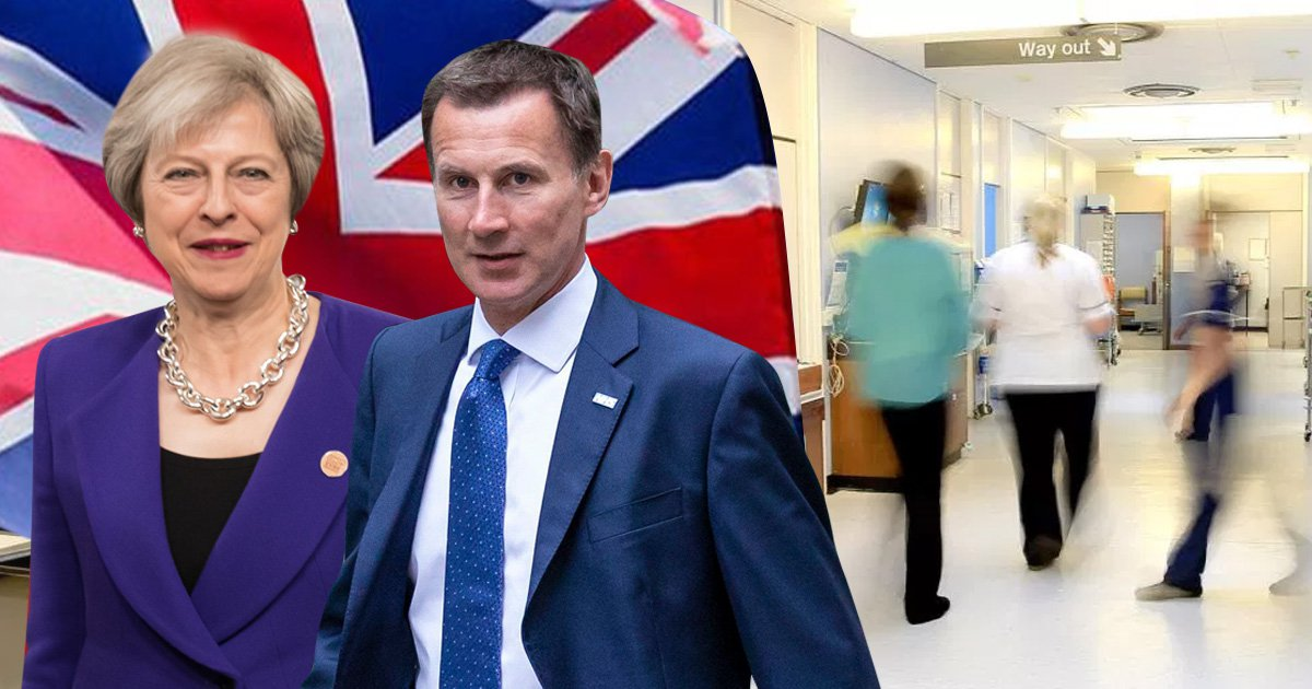 NHS will get £600 million a week as May and Hunt go beyond that bus pledge