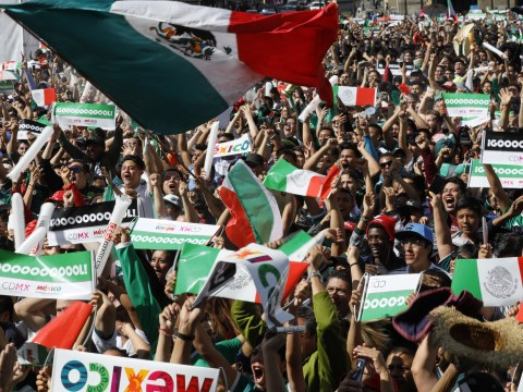 Mexico partied so hard after victory over Germany they set off an earthquake