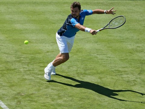 Stan Wawrinka makes light work of Cameron Norrie to reach Queen's round two