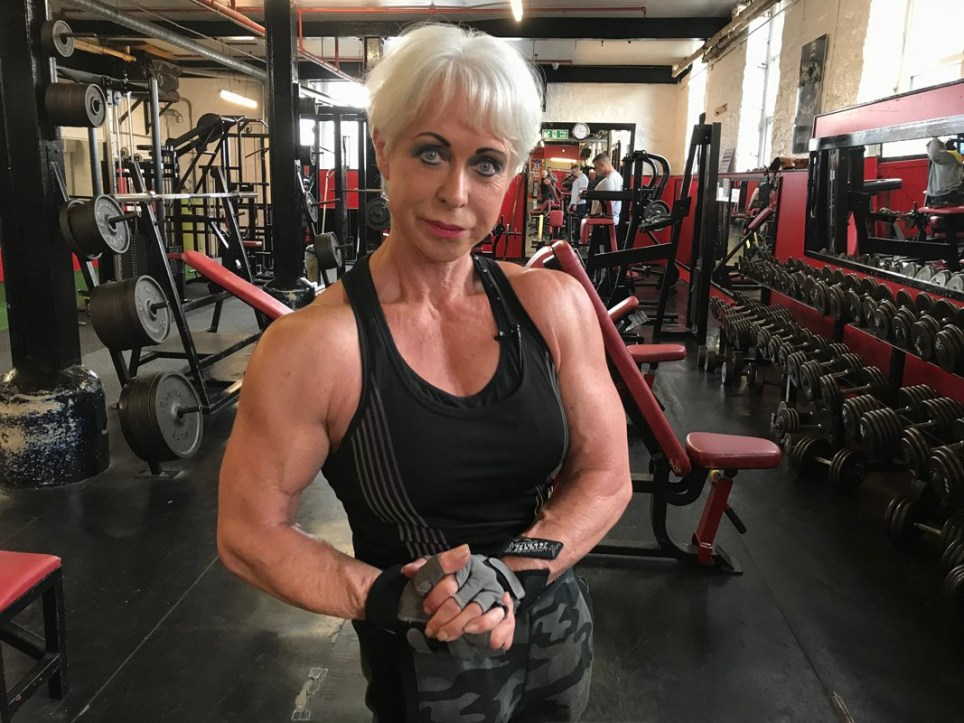 Super strong bodybuilding gran says men want to be dominated