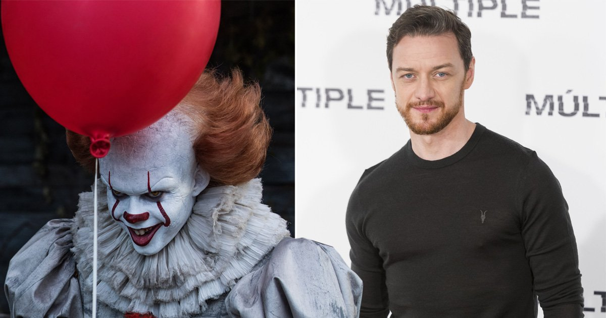 James McAvoy confirms filming has started for for It 2 – with Dairylea cheese triangle