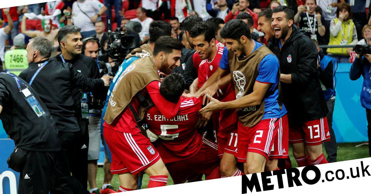 Iran staff member hospitalised after celebrating disallowed equaliser vs Spain