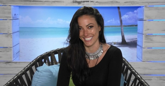 Editorial Use Only. No merchandising Mandatory Credit: Photo by ITV/REX/Shutterstock (5768773b) Sophie Gradon 'Love Island', Series 2 TV show, Episode 09, Mallorca, Spain - 2016