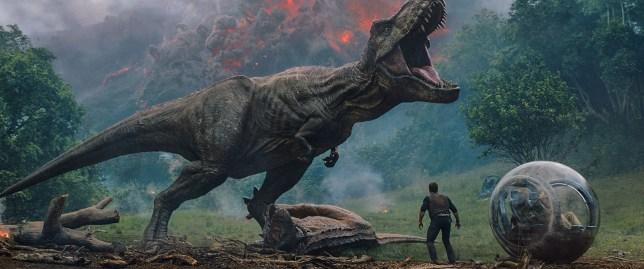 "No Merchandising. Editorial Use Only. No Book Cover Usage Mandatory Credit: Photo by Universal Pictures/Kobal/REX/Shutterstock (9716022f) Chris Pratt ""Jurassic World: Fallen Kingdom"" Film - 2018"