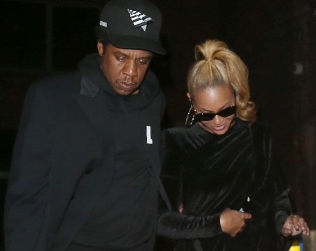 Singer Beyonce and rapper Jay-Z were spotted leaving The Arts Club at 3 in the morning in Mayfair, London, UK. Pictured: Jay-Z,Beyonce Ref: SPL5005570 220618 NON-EXCLUSIVE Picture by: SplashNews.com Splash News and Pictures Los Angeles: 310-821-2666 New York: 212-619-2666 London: 0207 644 7656 Milan: +39 02 4399 8577 photodesk@splashnews.com World Rights,