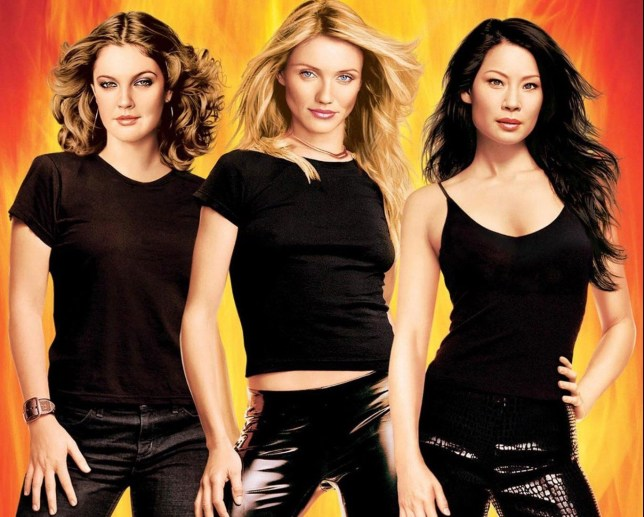 No Merchandising. Editorial Use Only. No Book Cover Usage. Mandatory Credit: Photo by Columbia/Kobal/REX/Shutterstock (5885922bh) Drew Barrymore, Cameron Diaz, Lucy Liu Charlie's Angels - Full Throttle - 2003 Director: McG Columbia USA Lobby Card/Poster Action/Comedy Charlie's angels - les anges se d?cha?nent