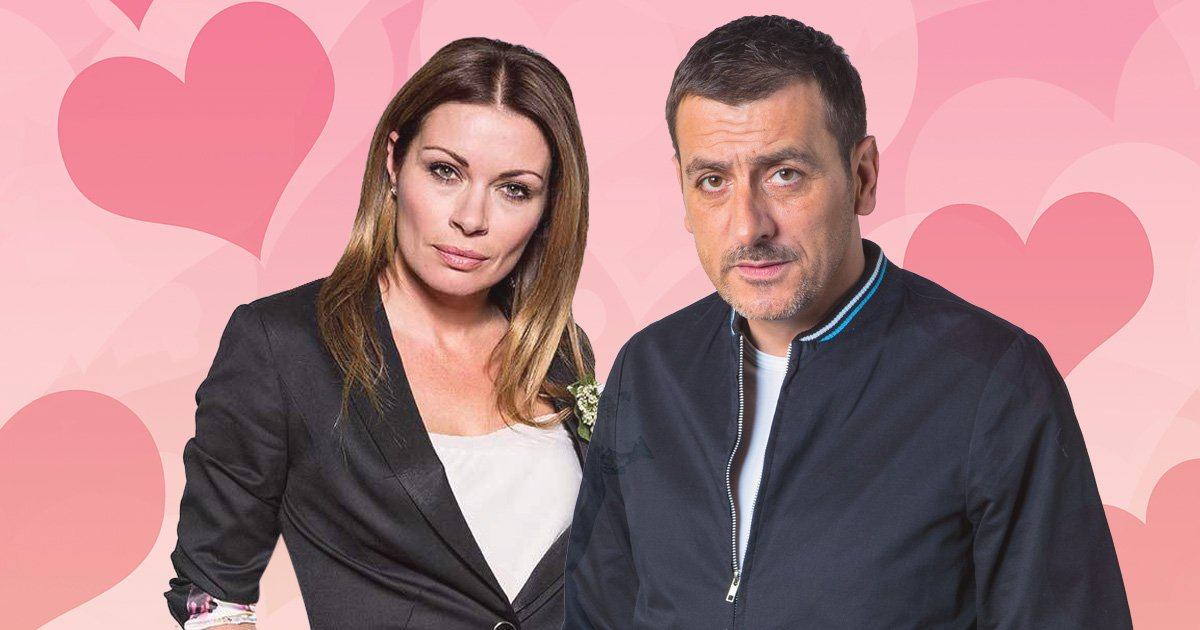 Carla and Peter in Coronation Street