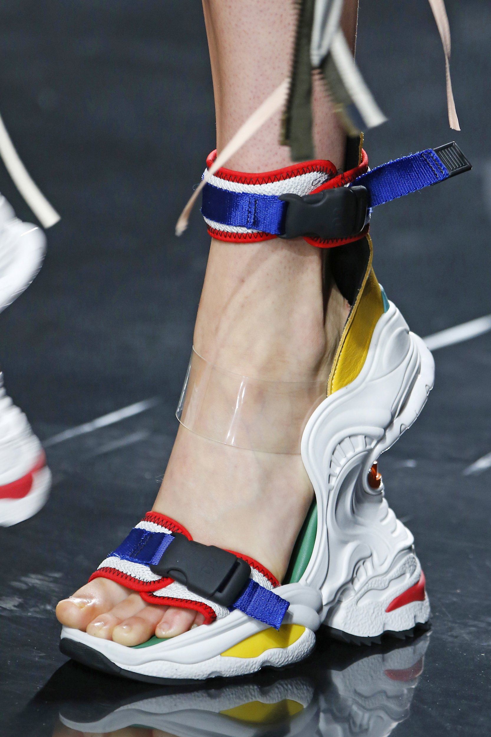 These ugly trainer heels will let you