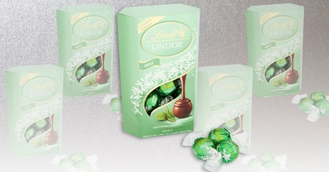Lindt Has Released Some Limited Edition Mint Lindor Truffles