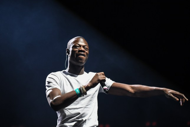 Mandatory Credit: Photo by Pete Summers/REX/Shutterstock (9252988bh) J Hus 'Spotify #WhoWeBe' concert at Alexandra Palace, London, UK - 30 Nov 2017