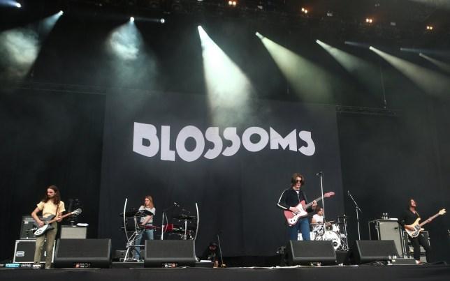 2018 Isle of Wight Festival - Performances Featuring: Blossoms Where: Newport, United Kingdom When: 23 Jun 2018 Credit: John Rainford/WENN