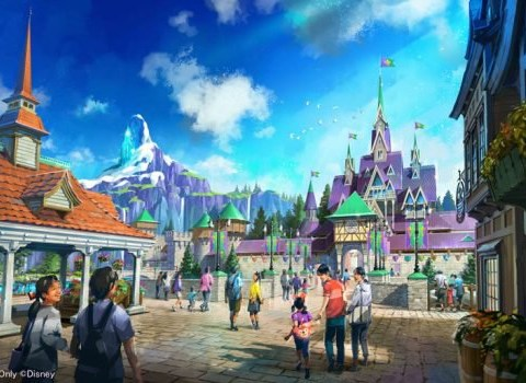 Tokyo Disneyland is expanding and it's getting Frozen and Tangled villages