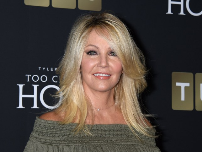 "Heather Locklear attends Tyler Perry's ""Too Close to Home"" TLC's first original scripted series screening held at The Paley Center"